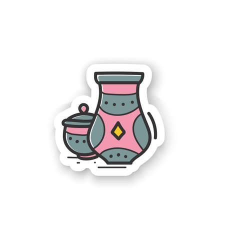 Pottery hobby sticker