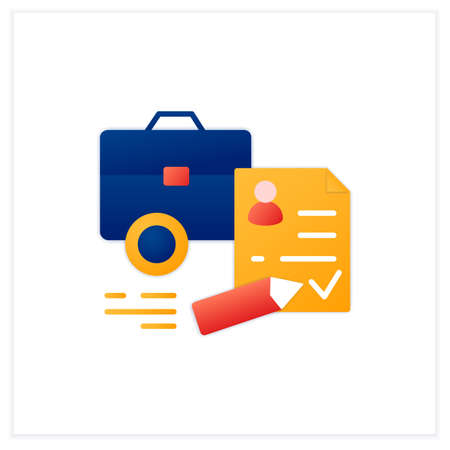 Register business flat icon