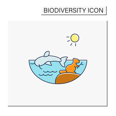 Freshwater color icon