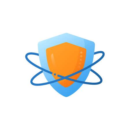 Innate immunity flat icon