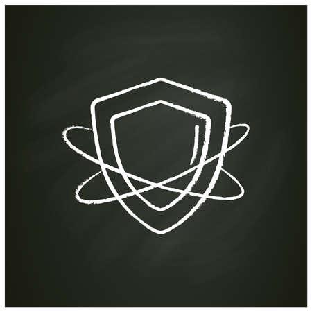 Innate immunity chalk icon