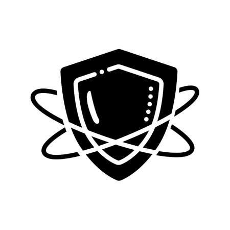 Innate immunity glyph icon