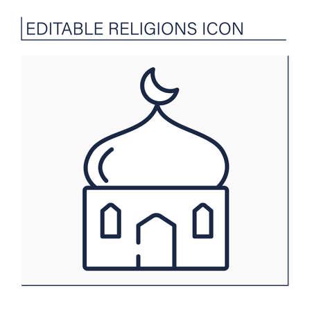 Islam line icon