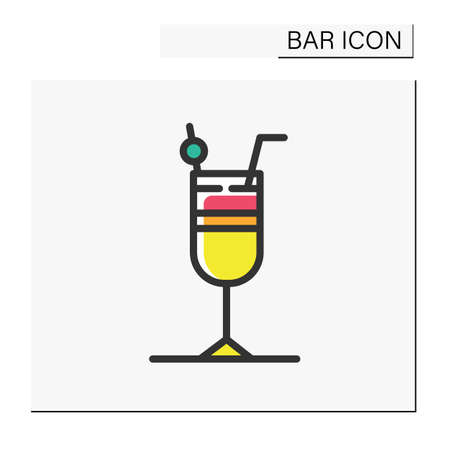 Cocktail color icon