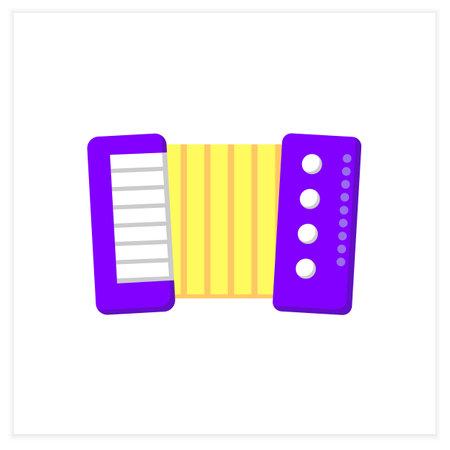 Accordion flat icon
