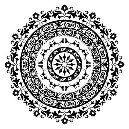 motifs: circle ornament