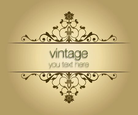 ornate vintage frames Stock Vector - 17658222