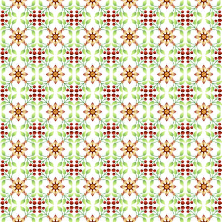 islamic pattern: seamless floral islamic pattern