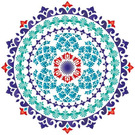Oriental pattern and ornaments  turkish design  Çizim