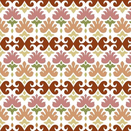 ottoman seamless pattern  elegant design Stock Vector - 18020241
