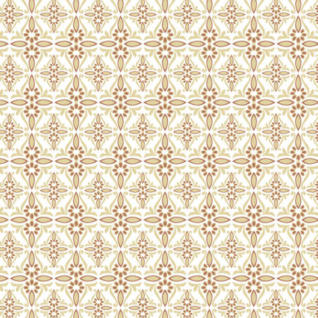 seamles pattern design  eastern style  Vector