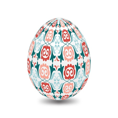 specially: Easter eggs are specially decorated for the feast of Illustration