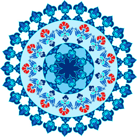 blue series is designed using the old patterns anatolia