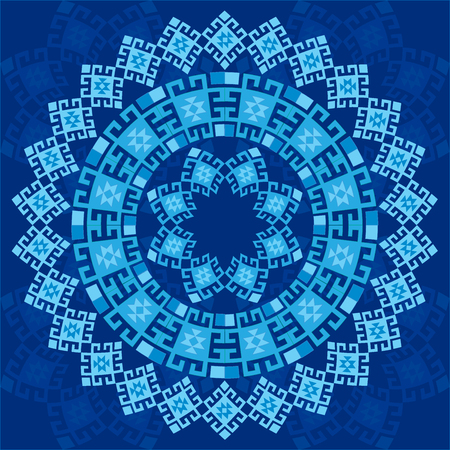 anatolia: blue series is designed using the old patterns anatolia