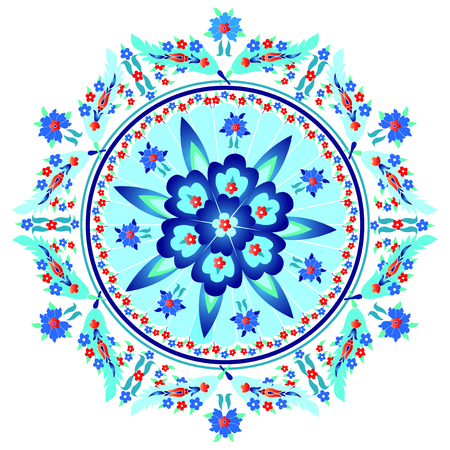 dekorativa mönster: Dekorativa mönster och ornament orientalisk östlig stil