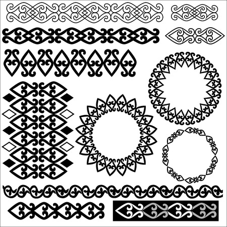taking advantage of the old anatolia designed patterns series Vector