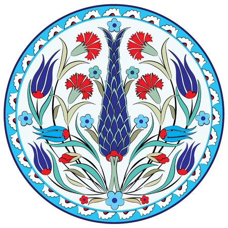 Aantal patronen gemaakt door gebruik te maken van de voormalige Ottomaanse Stockfoto - 26004501