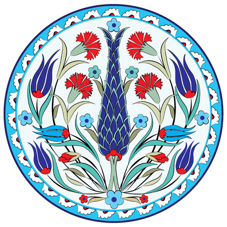 Serie de patrones diseñados tomando ventaja de la primera otomana Foto de archivo - 26004501