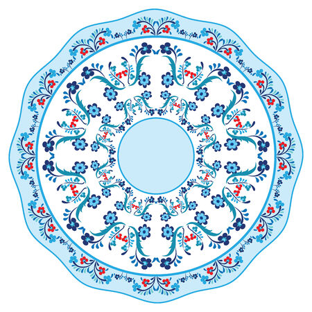 aantal patronen gemaakt door gebruik te maken van het voormalige Ottomaanse Stock Illustratie
