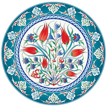 aantal patronen gemaakt door gebruik te maken van de voormalige Ottomaanse