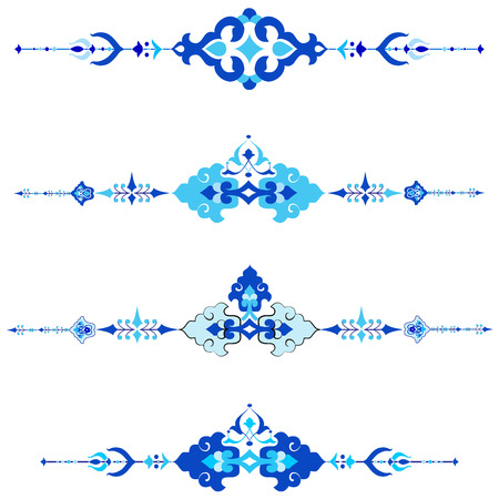 tints: Decorative frame pattern drawn in the old style