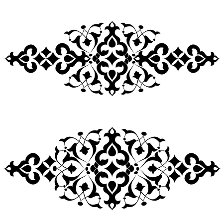 series of patterns designed by taking advantage of the former Ottoman Illustration