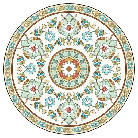 Ornament en design Ottomaanse decoratieve kunsten