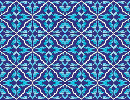 ottoman empire: seamless background pattern designed by the Ottoman Empire