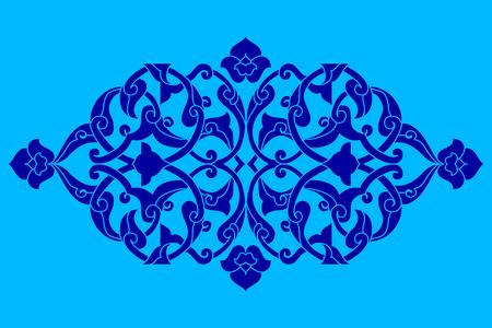 Inspiriert von den osmanischen Kunsthandmusterentwürfe