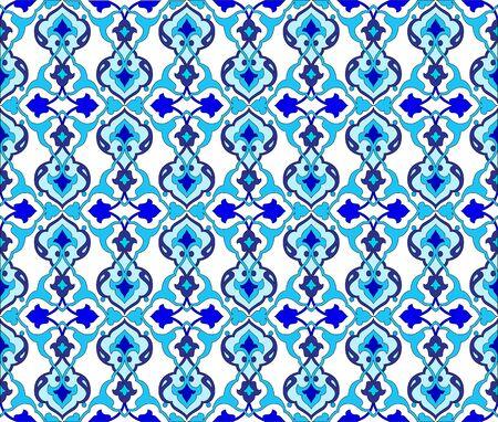 retrospective: Seamless pattern design inspired by the Ottoman decorative arts