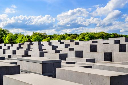 Gedenkteken voor de vermoorde Joden van Europa Berlijn op 4 mei 2015, Berlijn, Duitsland