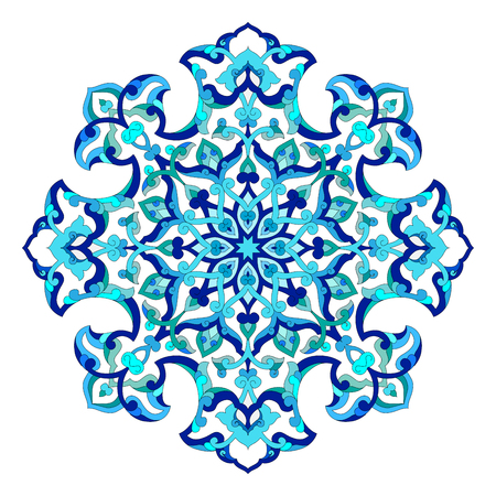 former: series of patterns designed by taking advantage of the former Ottoman Illustration