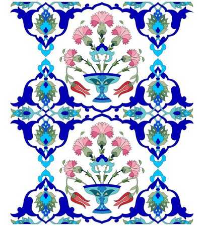 ornate border:   Ottoman decorative arts pattern designs