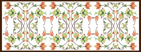 wallboard: Inspired by the Ottoman decorative arts pattern designs