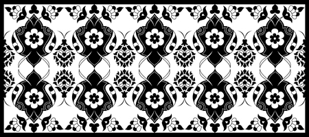 inspired: Inspired by the Ottoman decorative arts pattern designs