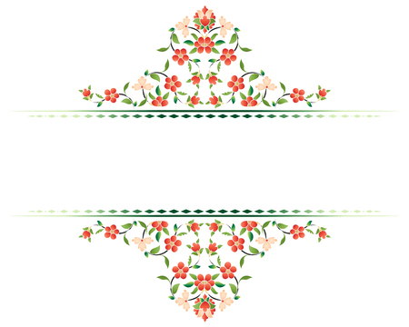 reeks van decoratieve achtergrond voor grafisch ontwerpers