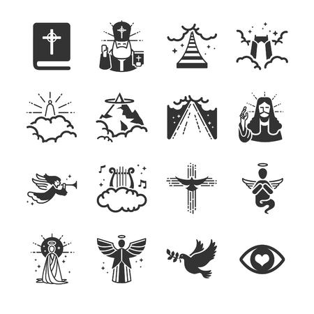 Heaven icons - Illustration Illustration