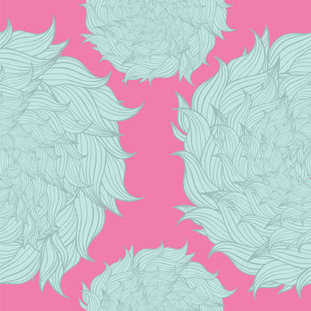 Seamless floral background pattern