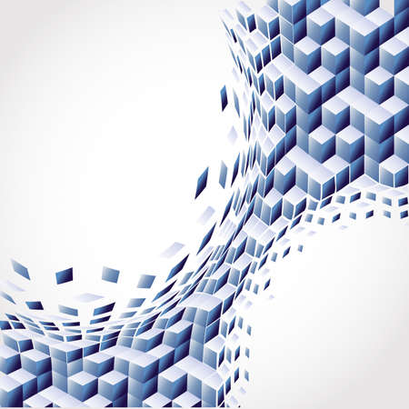 mértan: Vector art blue Background. Abstract