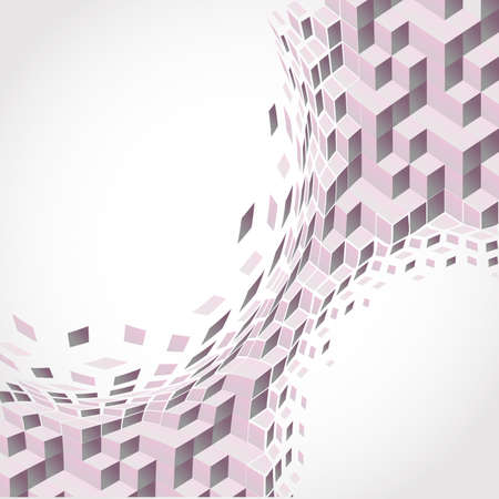 pink Background. Abstract Stock Vector - 9865143