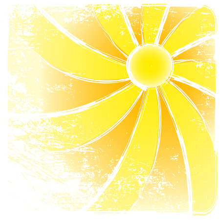 Sunburst grunge And Abstract Backgrounds. Vector illustration Vector