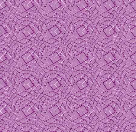 Naadloze vector paars patroon. Abstract curves lijn achtergrond