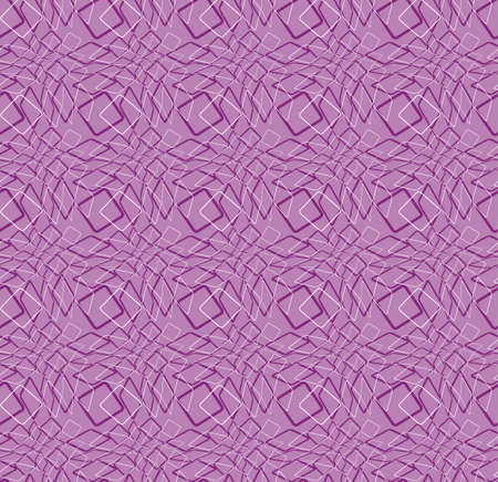 Seamless vector purple pattern. Abstract curves line background