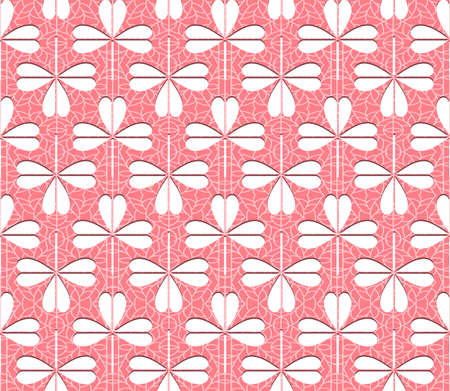 Seamless lace pattern for use with fabric projects, backgrounds or scrap-booking. Vector
