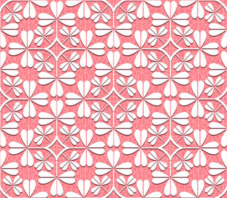 Seamless lace pattern for use with fabric projects, backgrounds or scrap-booking. Illustration
