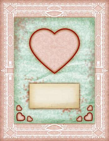 愛カードは、愛のノート、カード、少し驚き、ビンテージ愛ノートに注意してください。