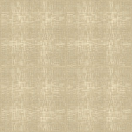 Natural linen seamless pattern  Natural linen striped uncolored textured sacking burlap background Vector