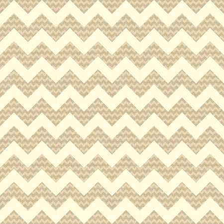 Seamless chevron pattern on linen background Vector