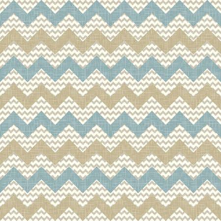 Naadloze chevron patroon op linnen textuur Zigzag achtergrond Stockfoto - 16061717