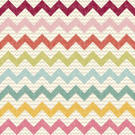 linen texture: Seamless patr�n de chevron de color sobre fondo Zigzag ropa de textura